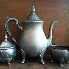Antique Tea Pot - English Shop by 082010