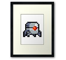 Nuclear Throne - Robot - Chest - HIGH QUALITY Framed Print