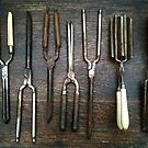 Antique Hair Curling Tools - Still Life by 082010
