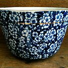 Blue White Bowl - Still Life by 082010