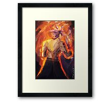 Son Of Igneel (Natsu Dragneel from Fairy Tail) Framed Print