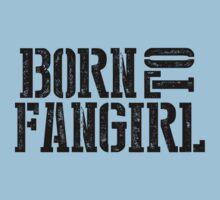 """Born to Fangirl"" - Black Kids Tee"