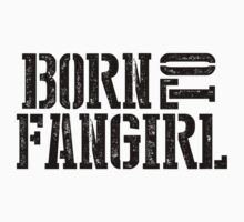 """Born to Fangirl"" - Black by slitheenplanet"