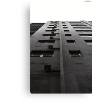 Scale tall buildings Canvas Print