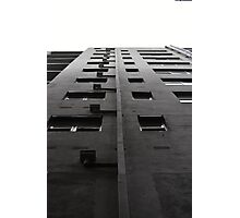 Scale tall buildings Photographic Print