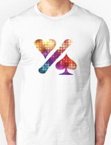 One% World logo - bubbles Unisex T-Shirt