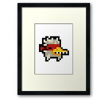 Nuclear Throne - Chicken - Chest - HIGH QUALITY Framed Print
