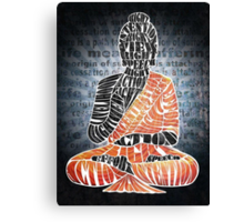 The Eightfold Path Buddha Canvas Print