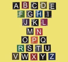 Easy AlphaBet Kids Tee