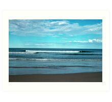 Beautiful Waves Art Print
