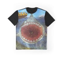Shark that lurks beneath Graphic T-Shirt