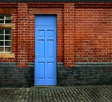 Bricks and Blue by paintingsheep
