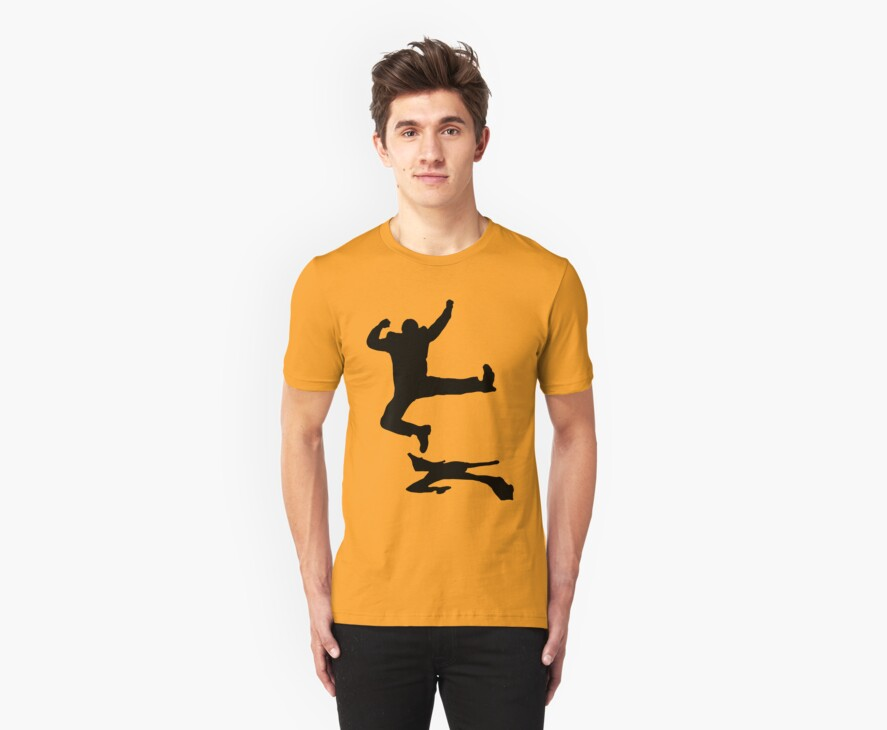 the happy guy t-shirt on lite by parko