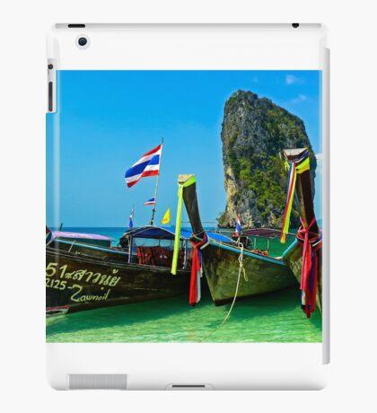 Island hopping, Krabi, Thailand iPad Case/Skin