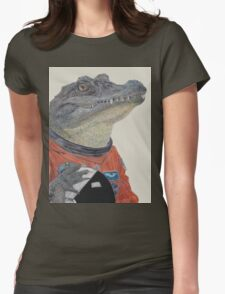 Floridian Gator Womens Fitted T-Shirt