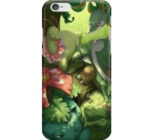 Grass starters iPhone Case/Skin