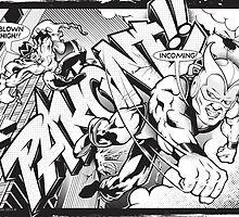 Pakone Superheroes   by trev4000