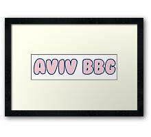 Aviv BBG Vineyard Vines Framed Print