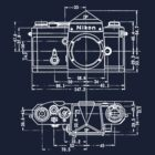 Vintage Photography: Nikon Blueprint by brainsontoast