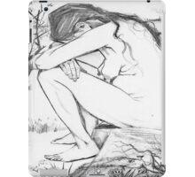 Sorrow (After Vincent Van Gogh) iPad Case/Skin