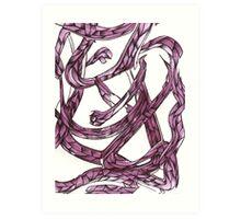 Stomach Knots Art Print