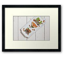 Arab Sweets Framed Print