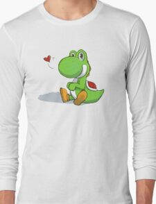 Chubby-Wubby Yoshi Long Sleeve T-Shirt