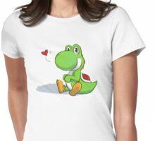 Chubby-Wubby Yoshi Womens Fitted T-Shirt