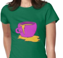 Coffee time? Womens Fitted T-Shirt