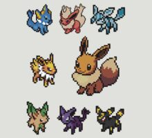 eeveelution sticker pack !!! by hallokittehxx