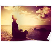 Tropical Sunset Meditation  Poster