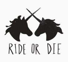 Ride or Die x Unicorn Kids Tee