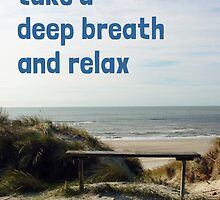 Hvide Sande: Take a Deep Breath and Relax by Martin Madsen