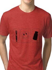 Superwholock icons Tri-blend T-Shirt