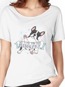 Feminist Frenchie Women's Relaxed Fit T-Shirt