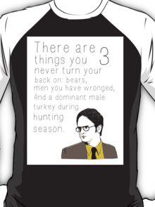 """Dwight's Rule"" T-Shirt"