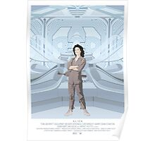Alien (1979) Movie Poster - feat. Ripley Poster
