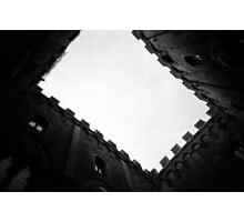 Town Hall of Gapped Teeth - Lomo Photographic Print