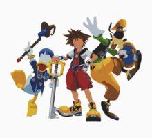 Kingdom Hearts - the Gang Kids Tee