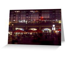 Alexanderplatz, Berlin 2000 Greeting Card