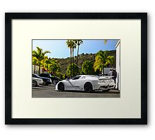 Bugatti EB110 Super Sport Framed Print