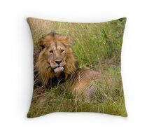 Great lion Throw Pillow
