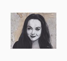 Charcoal Drawing of Morticia Addams Unisex T-Shirt