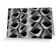 Concrete Facade - Chemnitz Greeting Card