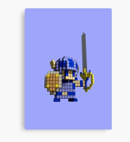 3D Dot Game Heroes Canvas Print