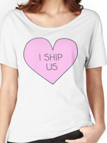 I ship us Women's Relaxed Fit T-Shirt
