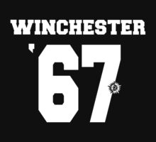 Supernatural - Winchester Jersey #67 by PotatoCrisp
