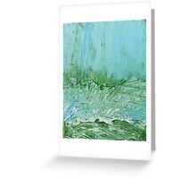 Sky in Wild Grasses Greeting Card
