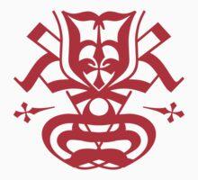 Typo Samurai - Red Kids Tee