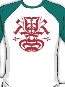 Typo Samurai - Red T-Shirt